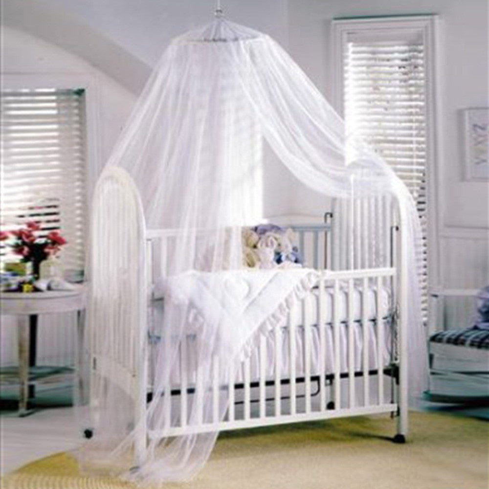 Baby Canopy/Mosquito Net for Cot kids Baby Bed Four Poster Crib