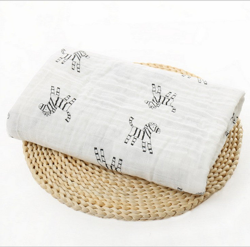 Aden anais baby blanket Soft Bamboo fiber Tree Cross Swaddle Bath