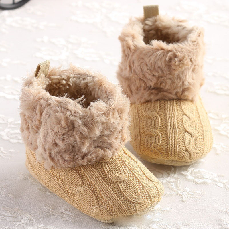 Baby crochet shoes Boy Girls Shoes Soft Sole Kids Toddler Infant Boots