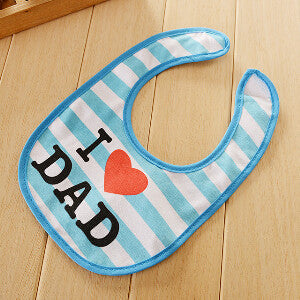 Baby bibs 25*18cm cartoon printing waterproof bibs for baby boy girl