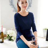 Autumn Long Sleeve Pregnancy Breast Feeding Nursing Tops For Feeding Maternity Clothes For Pregnant Women Wear
