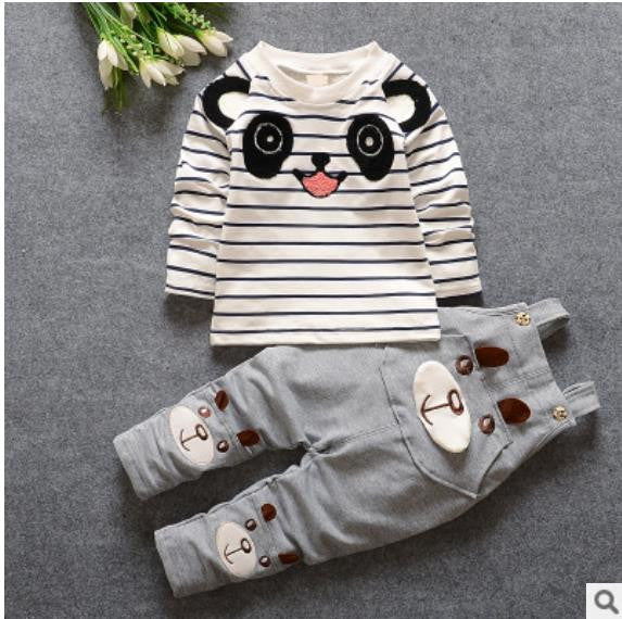 Baby boys clothes Brand Overalls For korean kids girls clothes cartoon