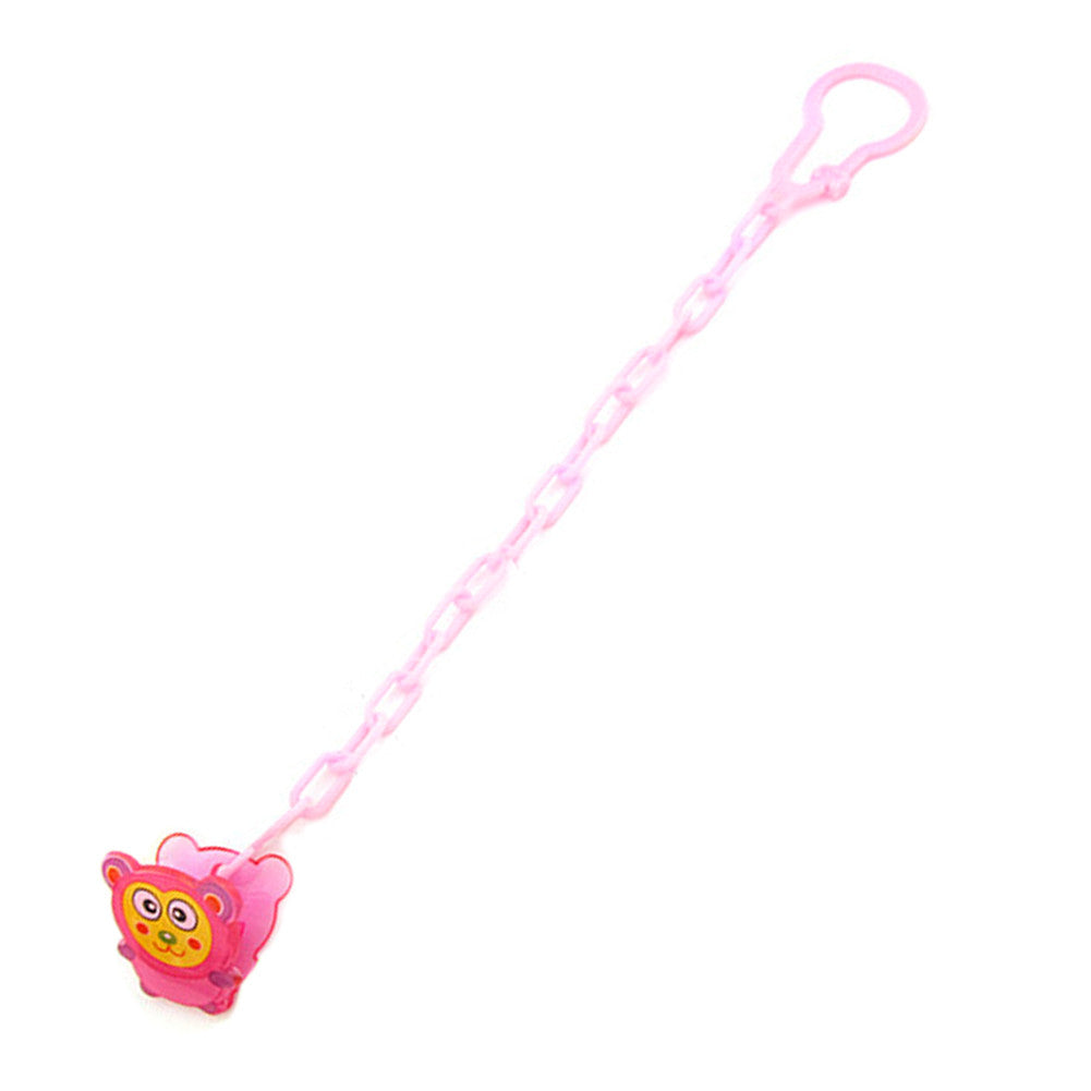 Baby Care Pacifier Clip Baby Dummy Chain Feeding Product Animal