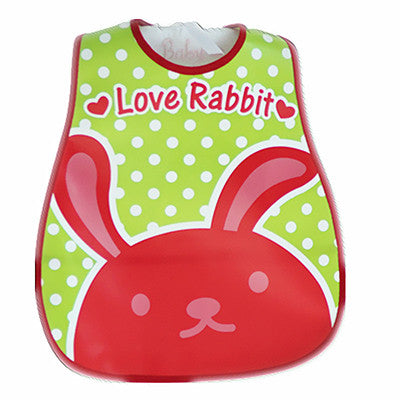 Baby Bibs PEVA Waterproof Lunch Bibs Boys Girls Infants Cartoon