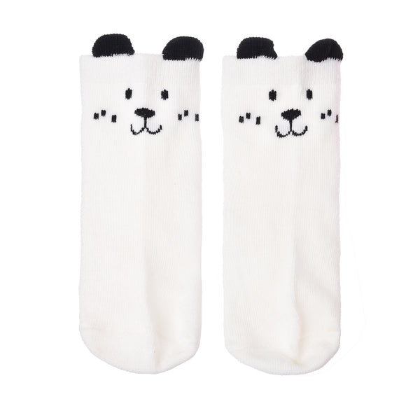 Cartoon Cute Animal Dog Owl Pattern Kid Socks Cotton Anti Slip Socks For Toddler Boy Girl 0 To 4 Years