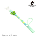 BABY Beaded Pacifier Chain Personalised -Any name Customized