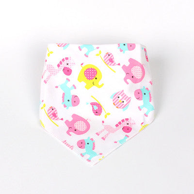 High Quality Baby Bibs Double Layers 100% Organic Cotton Infant