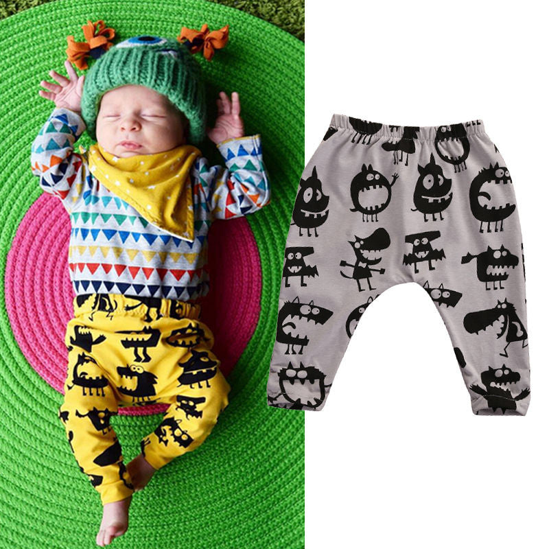 Adorable Baby Leggings Toddler Infant Kids Baby Boy Girl Harem Pants