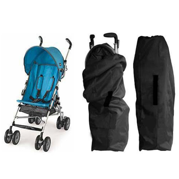 Oxford Cloth Car Air Stroller Pram Baby Bag Buggy Travel Cover Case
