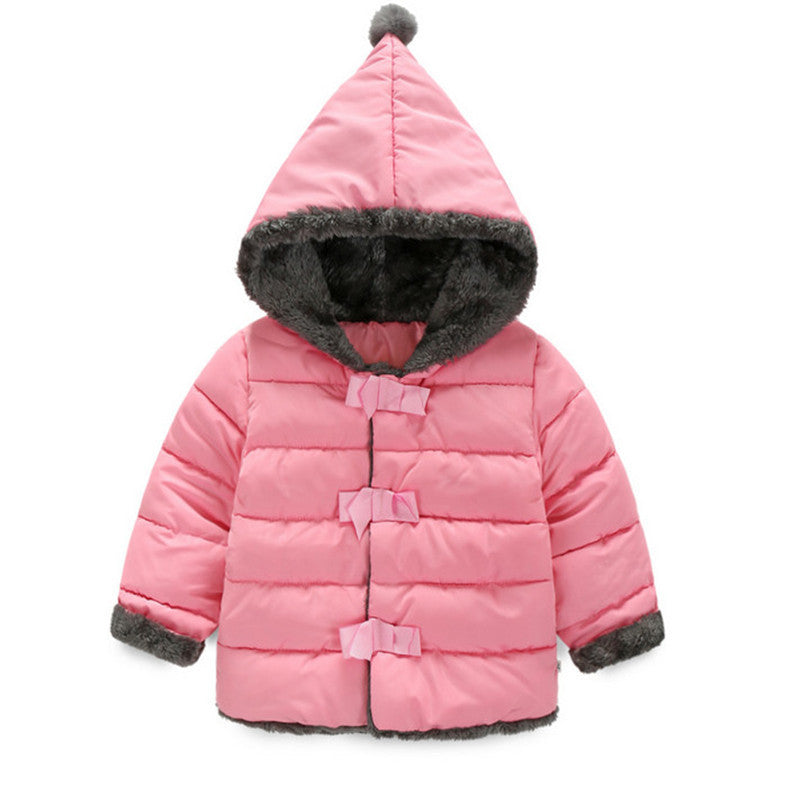 Baby Girls Clothes,Children Winter long sleeve Warm Jacket &