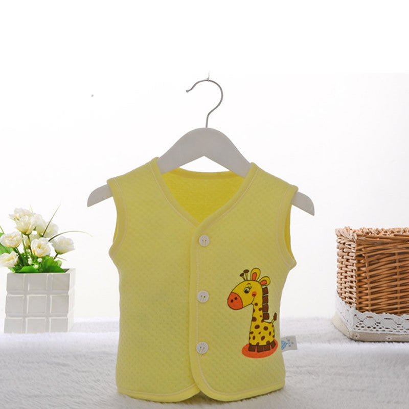 High Quality 2016 NEW Unisex Baby Boys Girls Vest Kids Winter