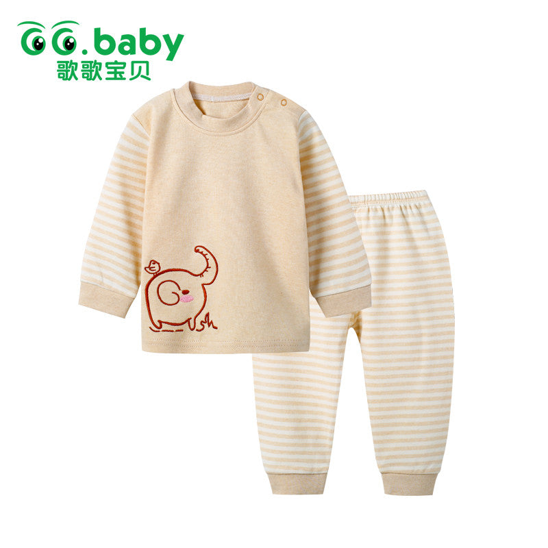 Animal Children's Clothing Sets Kids Girls Tshirt Pants Newborn Baby