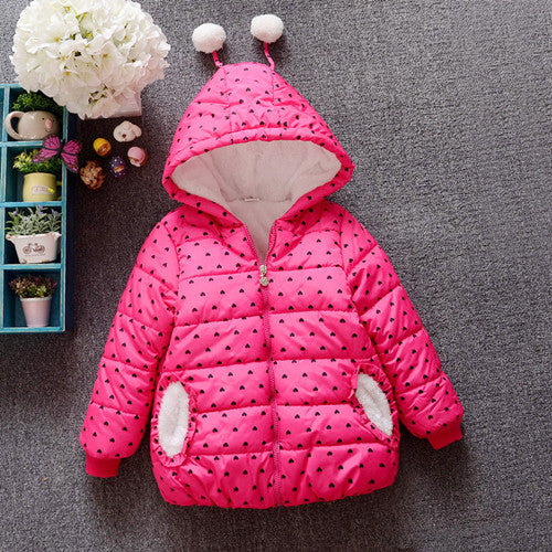 Baby Girls Clothes,Children Winter long sleeve Warm