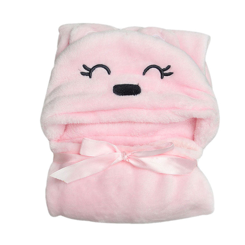 Baby Boys Blanket Towels Girls Robes Winter Spring Cartoon Bear
