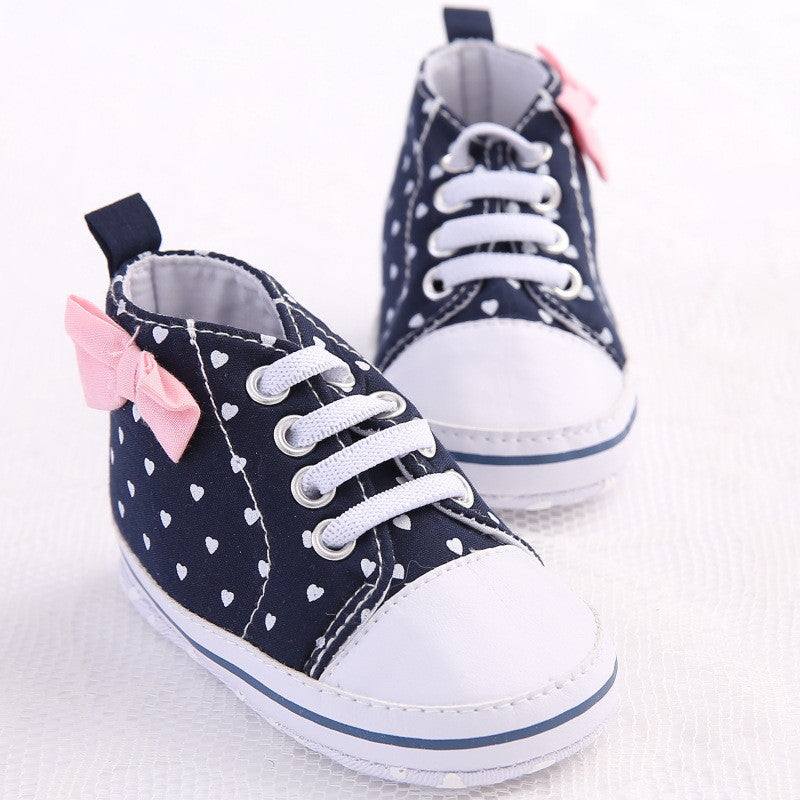 Autumn Lace-Up First Walkers Sneakers Shoes Classic Casual Baby