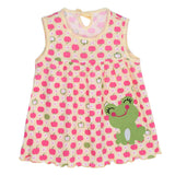 Hot Lovely 0-2Y New Baby Girl Clothes Dress Fashion Pure Cotton Cartoon Girls Clothes Baby Sleeveless Dress