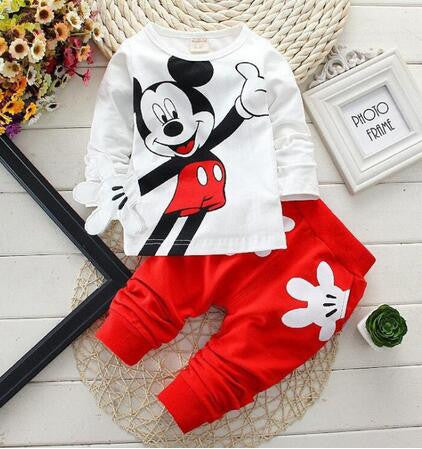 Baby Clothing Set Spring Kids Sports Suit Boy Clothes Set Children