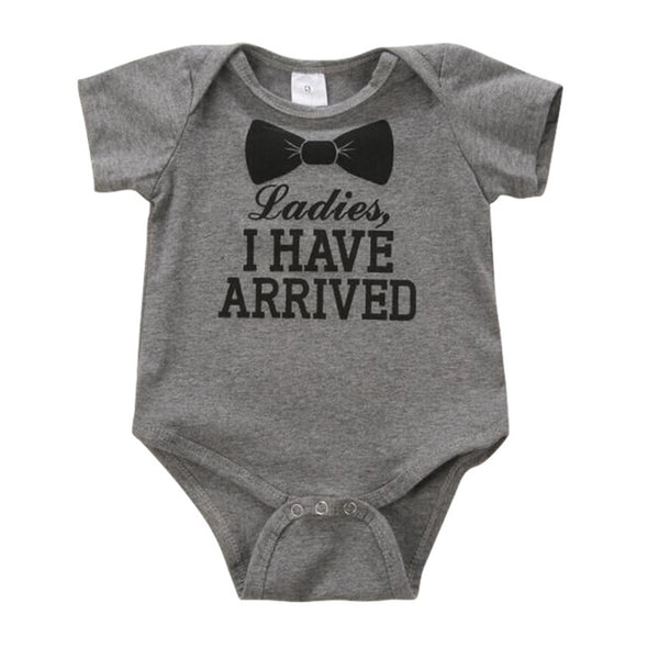 Baby Bodysuits Newborn Clothes Body Short Sleeve Body suites Summer Letter Infant Jumpsuit Girl bebe menino
