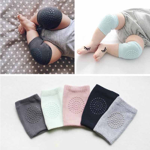 Safety Combed Cotton Baby Knee Pads Crawling Elbow Cushion Protector Baby Leg Warmers Baby Kneecap Anti Slip Knee Pads 0-1Y