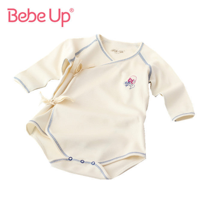 Baby Bodysuits Long Sleeve Fine Cotton Boys Girls Clothes  New Born