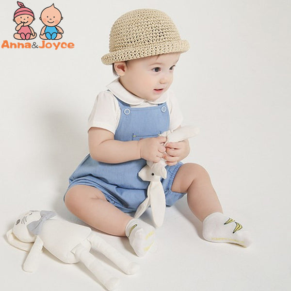 Summer Fashion New Korean  Baby Doll Collar Solid Color Cotton Short-sleeved T-shirt TST0084