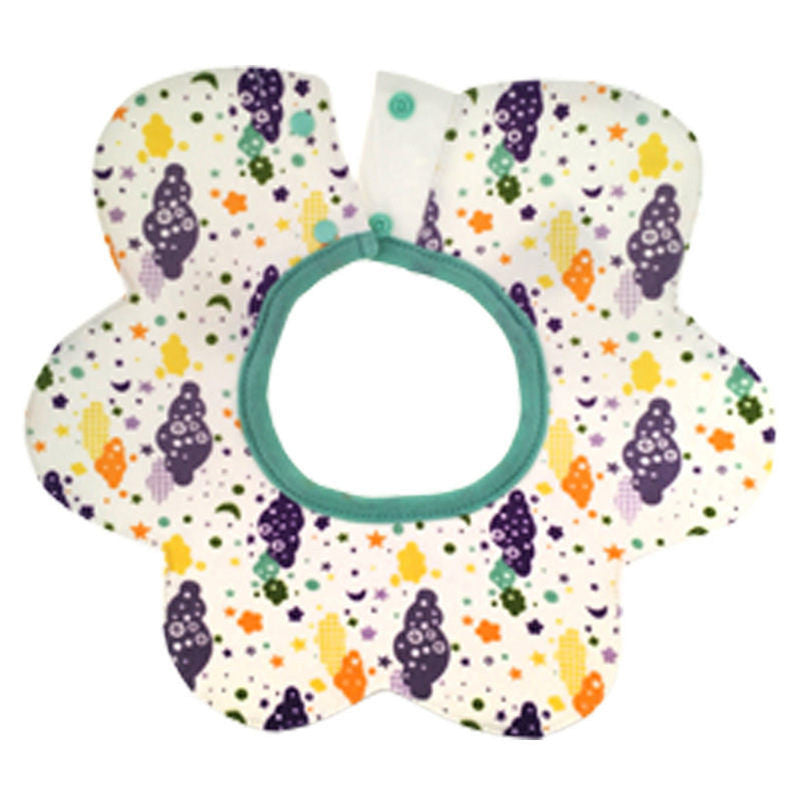 Baby Bibs Round Neck Burp 360 Degree Cloths Baby Slabbers Infantil