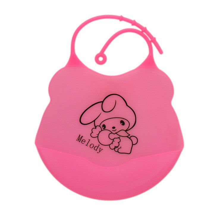Baby bibs waterproof silicone feeding baby saliva towel wholesale