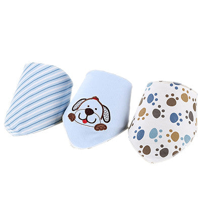 Baby Bibs Bandana 3 PCS/Lot Baby Clothing Girls Boys Towel Bandanas