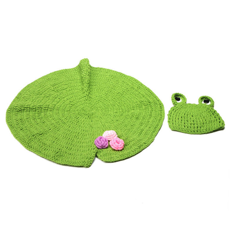 Animal Design Newborn Baby Crochet Photography Props Handmade Knit