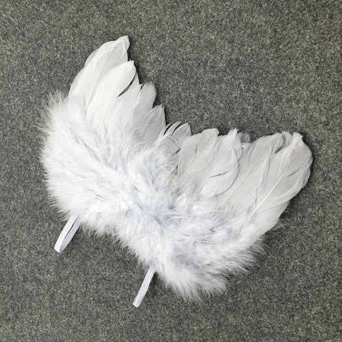Newborn Baby Girls Boys Angel Wings Costume Photo Photography Prop