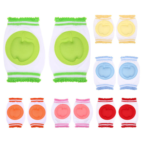 Baby Knee Pads Protector Cotton Safety Crawling Elbow Cushion Toddlers Knee Pads Baby Clothing Accessory Leg Warmers