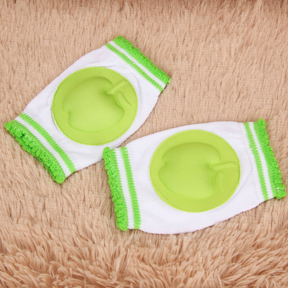 Baby Knee Pads Protector Cotton Safety Crawling Elbow Cushion Toddlers