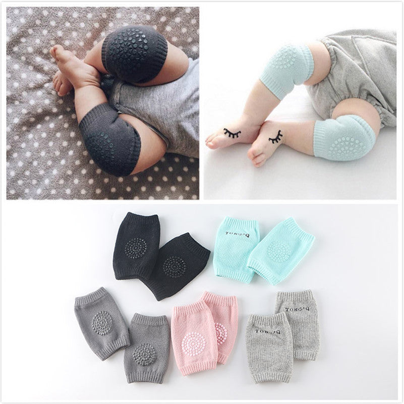 6-24M Baby Knee Pads Crawling Protector Cotton Kids Kneecaps