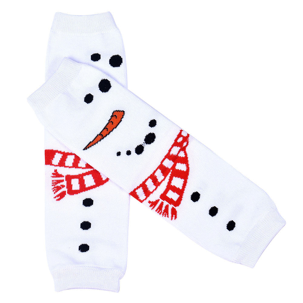 Hot Sale Child Girl Kneepad Socks Leg Warmer Merry Christmas Gift