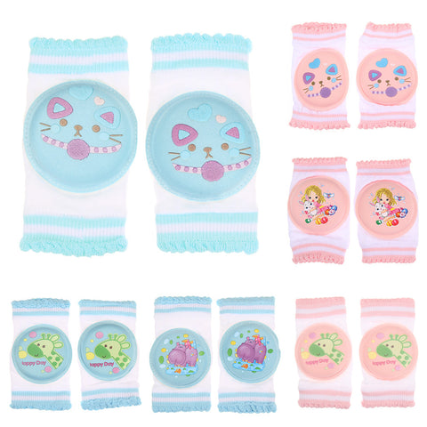 Baby Safety Crawling Elbow Cushion Protective Knee Protector Leg Warmers Infant Toddlers Baby Knee Pads Protector