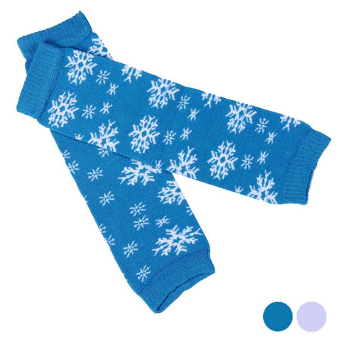 Cheap Price Child Girl Snowman Pattern Socks Leg Warmer Polainas Kids Boot Socks kids Knee Safety Protect Free Shipping