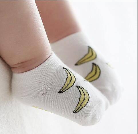 Baby Socks With Rubber Soles Cute Meias Infantis Cotton Newborn