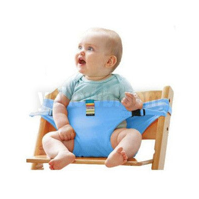 Baby Dining Belt Portable Infant Chair Seat Product Stretch Wrap Safty