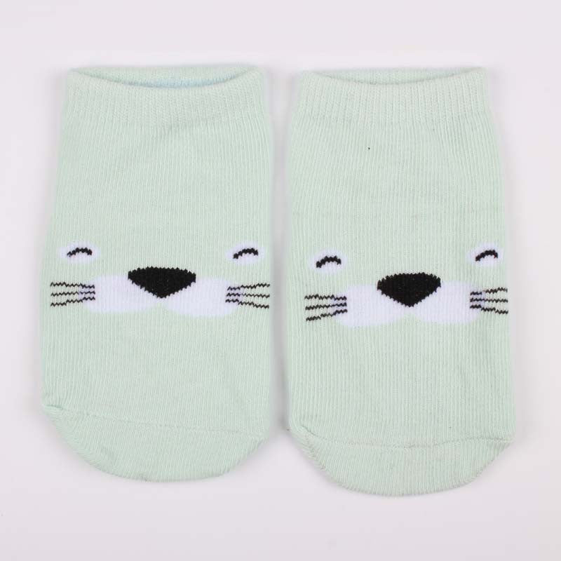 Autumn Winter Baby Cotton Socks Cute Cartoon Animal Soft Warm