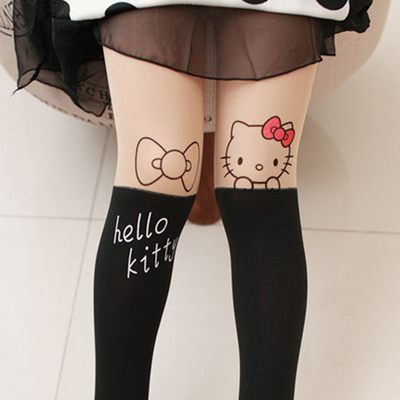 Baby Children Girls Tights Kids Dance Full Foot Stockings Tights