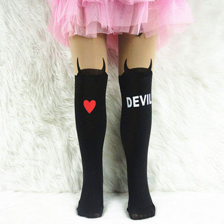 Baby Children Girls Tights Kids velvet pantyhose cute Knee lovely