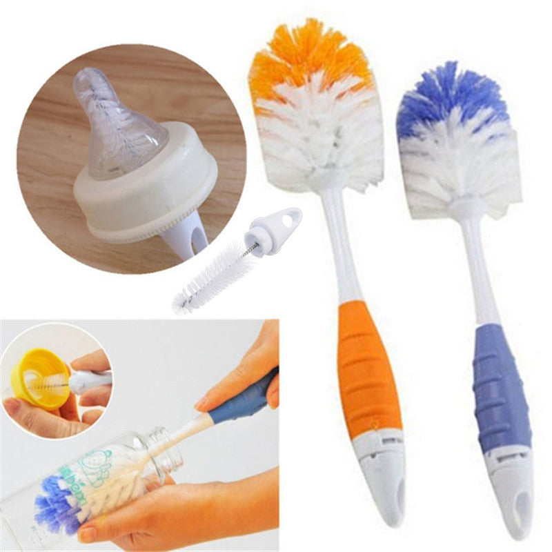 Baby Bottle Brushes for Cleaning Kids Milk Feed Bottle Nipple Pacifier