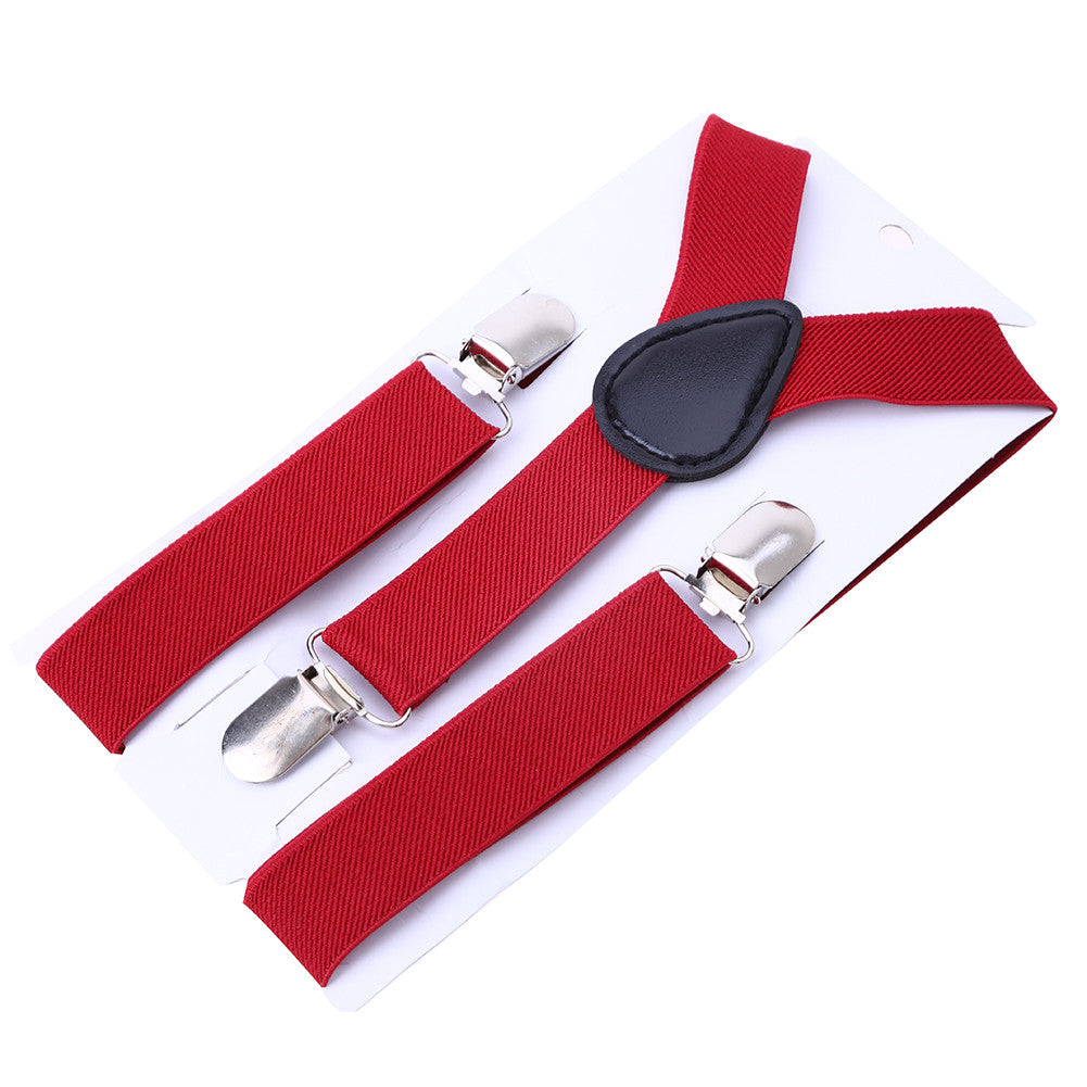 Baby Boys and Girls Adjustable Strap Elastic Clip Suspenders Straps