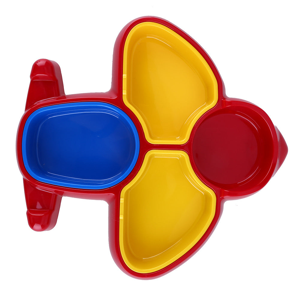 Baby Dinnerware Airplane Shaped Baby Dishes Bright Colors Baby