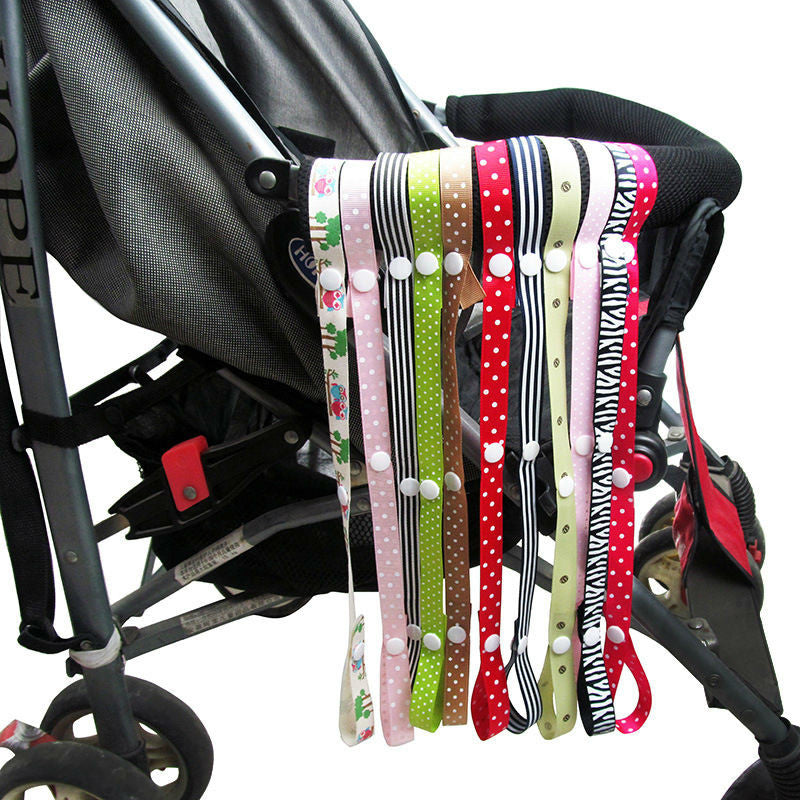 Baby Bottle Strap Holder 60cm Stroller Toys Rope Teethers Pacifiers