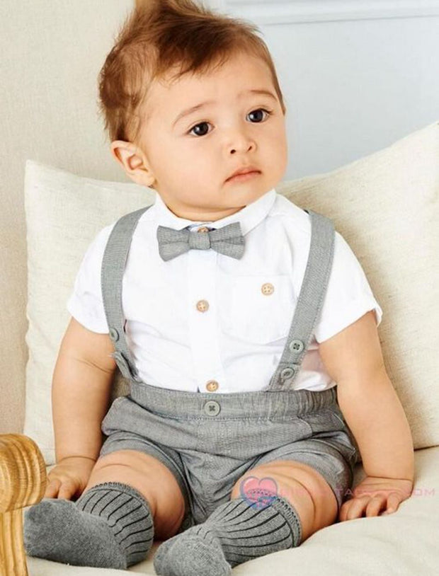 2016 new baby boy child pants suit  gentleman suit style Short