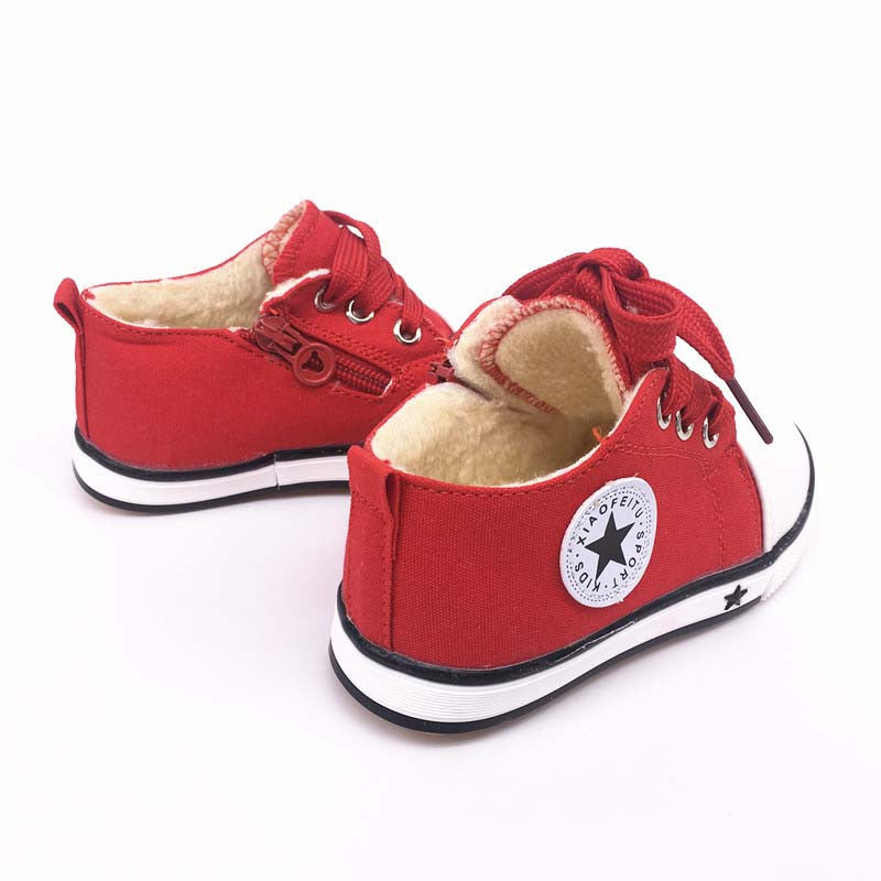 6 colors summer spring Canvas children's shoes star fashion sneakers