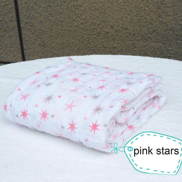 Adena anais Muslin Baby Blankets Bedding Infant Cotton Swaddle Towel