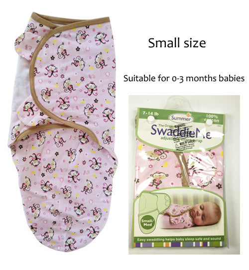 Baby Bedding Swaddle Baby Swaddle Wrap Envelope for Newborns 100%