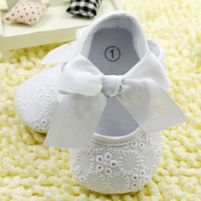 Anti Slip Soft Sole Sneakers 3-18M Baby Boy Girls Crib Shoes Faux PU